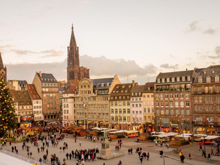 Réveillon en Alsace